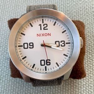 """Nixon """" The Corporal Men's Watch (Pristine)"""